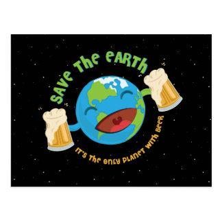 Save The Earth Postcard