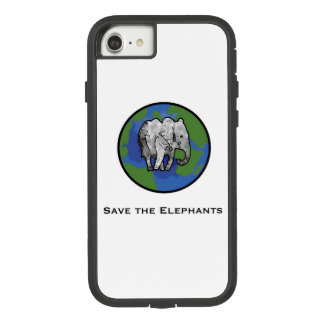Save the elephants Case-Mate tough extreme iPhone 8/7 case