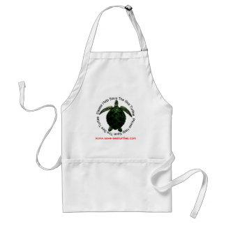 Save The Endangered Sea Turtles Apron