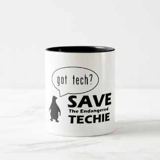 Save the Endangered Techie Mug