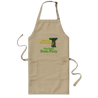 Save the Environment Long Apron
