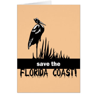 Save the Florida Coast Greeting Cards