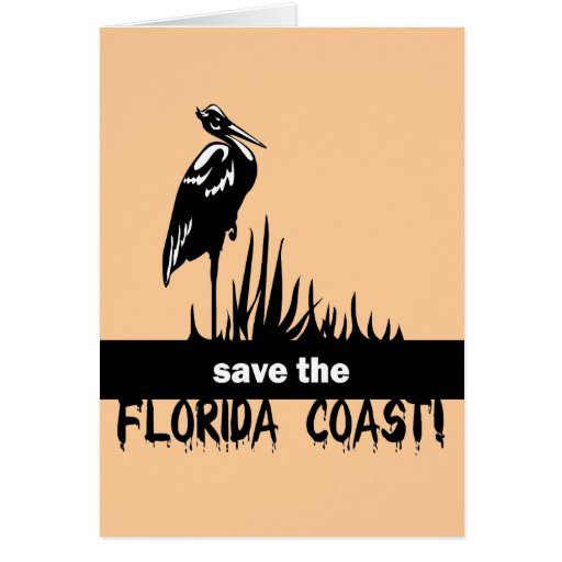 Save the Florida Coast Greeting Cards