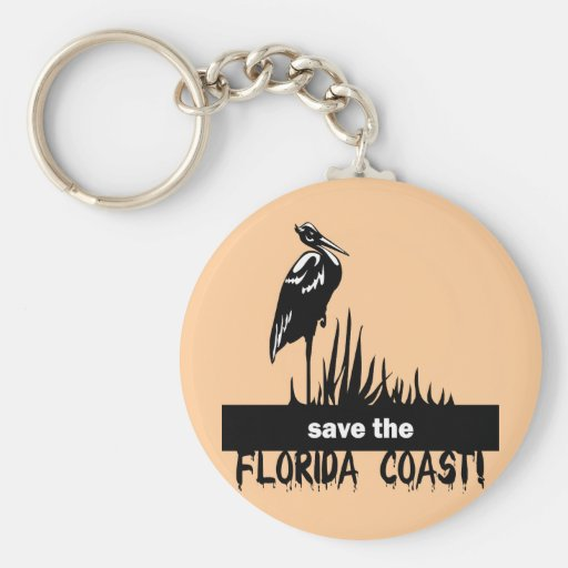 Save the Florida Coast Key Chains