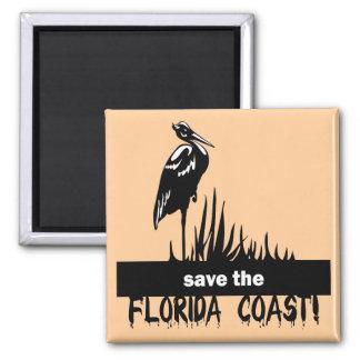 Save the Florida Coast Magnet