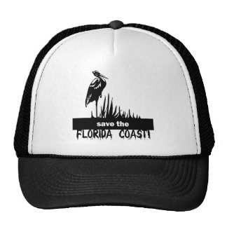 Save the Florida Coast Mesh Hats