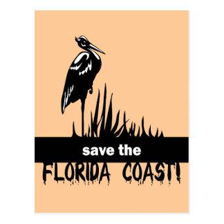 Save the Florida Coast Post Card