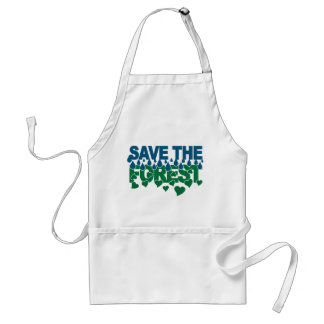 Save The Forest apron - choose style & color