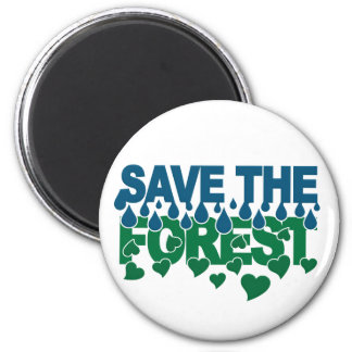 Save The Forest magnet