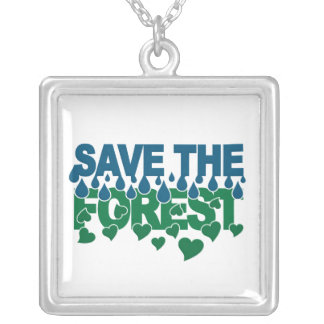 Save The Forest necklace - customizable