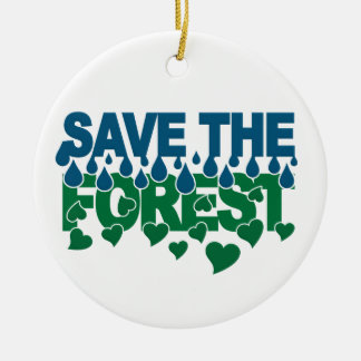Save The Forest ornament - customize