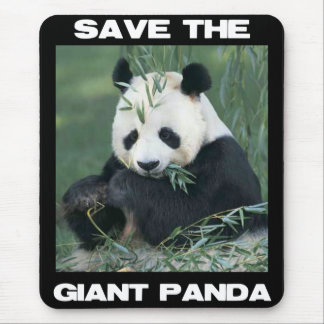 Save the Giant Panda Mouse Mat