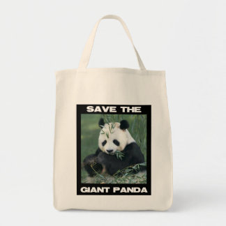 Save the Giant Panda Tote Bag