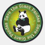 Save the Giant Pandas Sticker