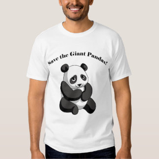 Save the Giant Pandas! Tee Shirt