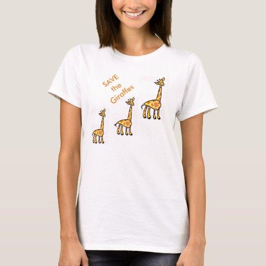 Save the Giraffes T-Shirt