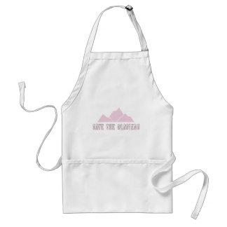 save the glaciers standard apron