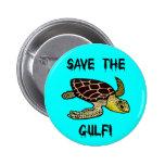 Save the Gulf 6 Cm Round Badge