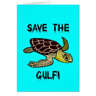 Save the Gulf Greeting Card