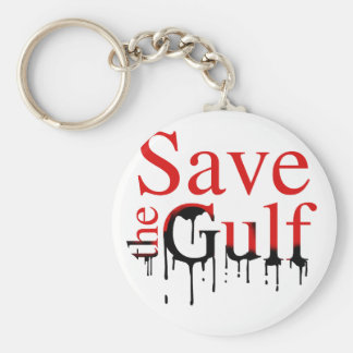 SAVE THE GULF KEY RING