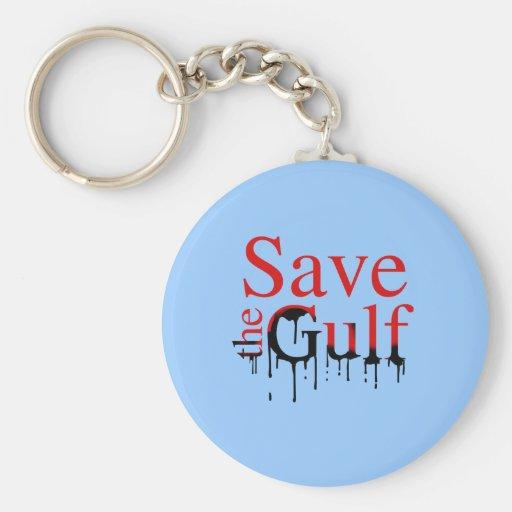 SAVE THE GULF KEYCHAINS
