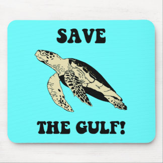 Save the Gulf Mouse Pad