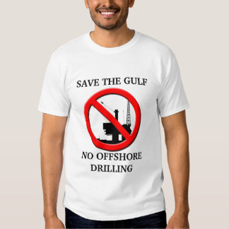 Save the Gulf NO Offshore Drilling Mens T-shirt. Shirts
