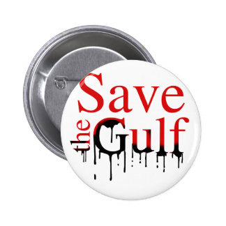 Save the Gulf Pinback Buttons