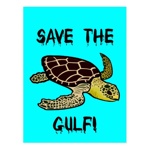 Save the Gulf Postcard