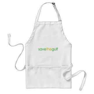 save the gulf standard apron