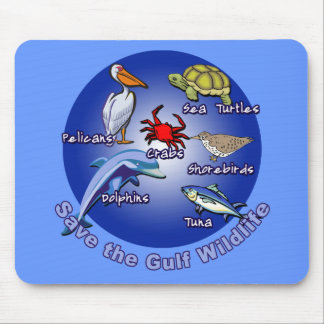 Save the Gulf Wildlife Tshirts Mouse Pad