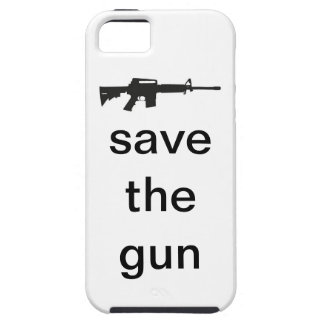 Save The Gun iPhone Case iPhone 5 Cases