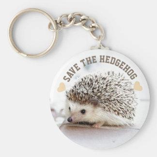 Save The Hedgehog Key Ring