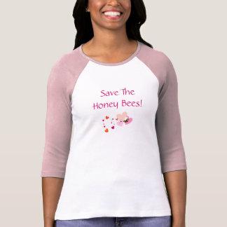 Save The Honey Bees Tee Shirts