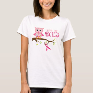 Save the Hooters! Breast Cancer Awareness Tee