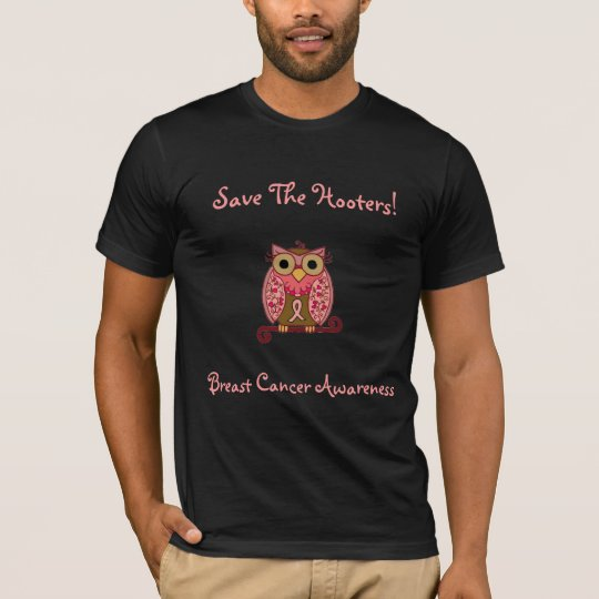 Save The Hooters Owl-all colours apparel T-Shirt