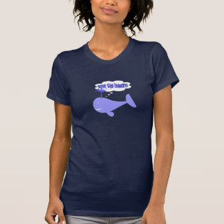 Save The Humans Whale Tee