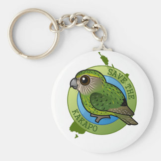 Save the Kakapo Key Ring