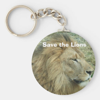 Save the Lions Key Ring