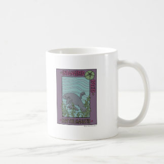 Save The Manatee Basic White Mug