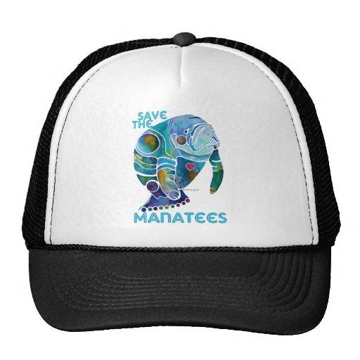 Save The Manatee Hats