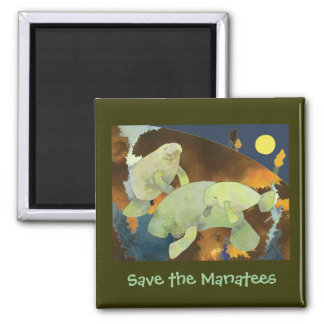 Save the Manatee magnet