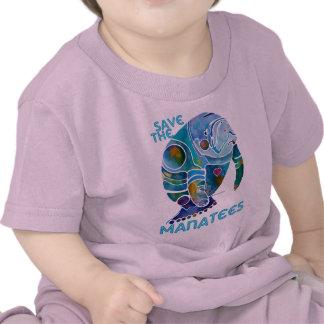 Save The Manatee Tee Shirts