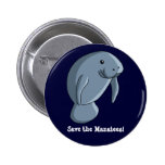 Save the Manatees! Button