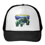 Save the Manatees Mesh Hat