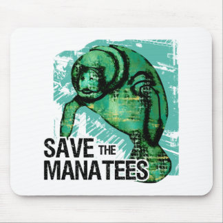 Save the Manatees Mousepads