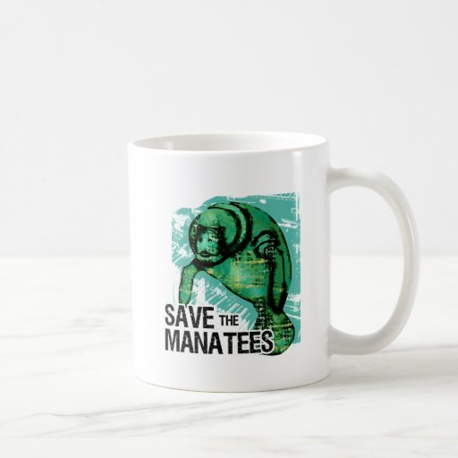 Save the Manatees Mugs