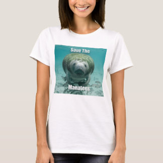 Save the Manatees T- Shirt