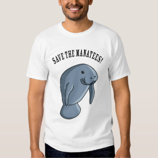 Save the Manatees! T Shirts