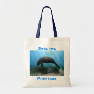 Save the Manatees Travel Bag